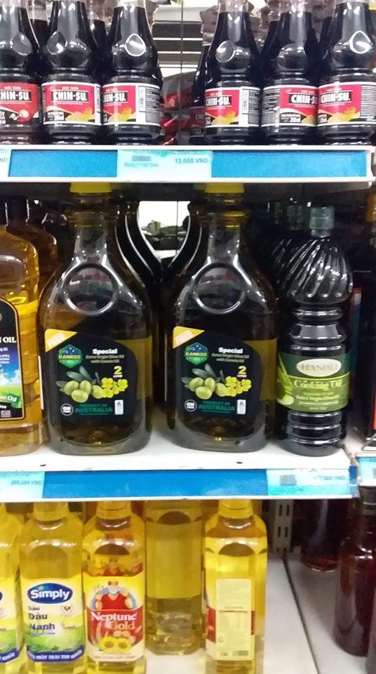 Mua dầu oliu ở đâu